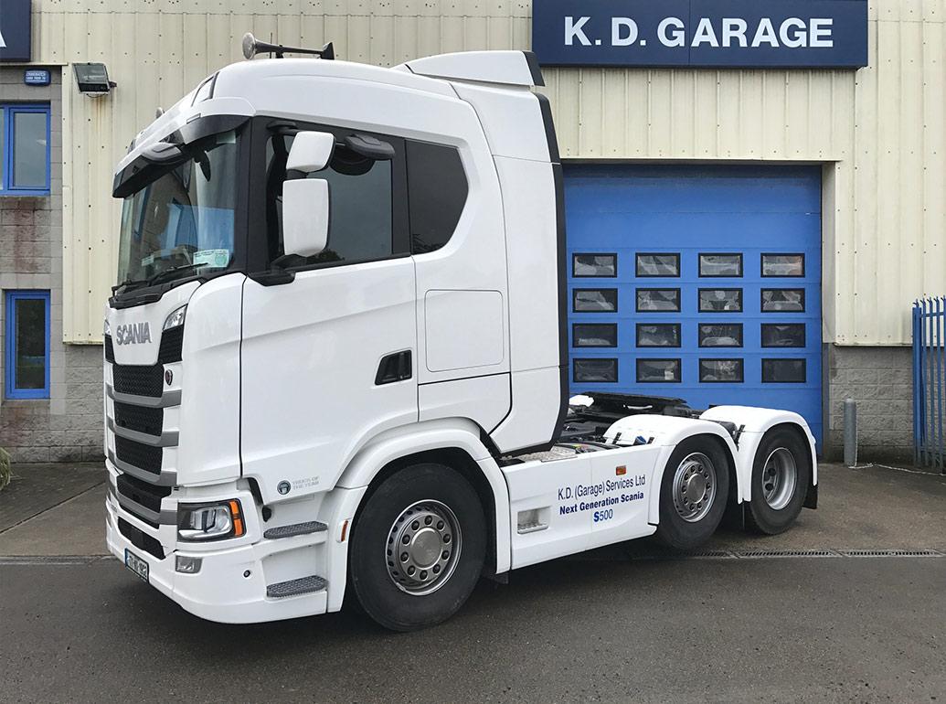 Used Trucks K D Garage Services Ltd